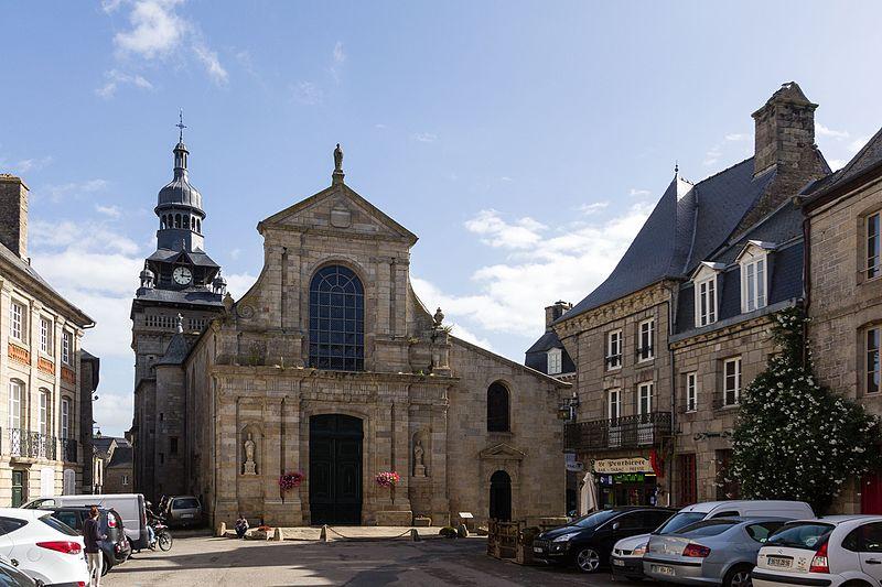 Photo du Monument Historique Eglise Saint-Mathurin situé à Moncontour