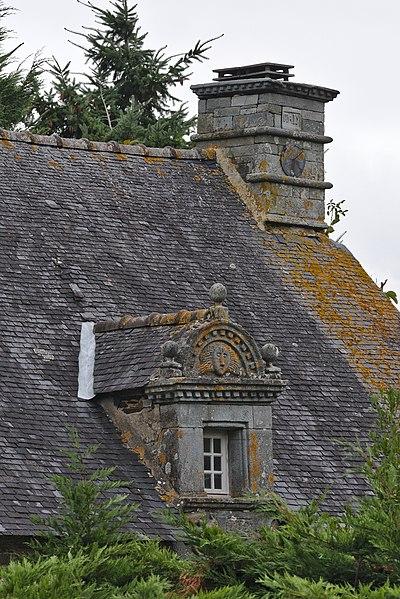 Photo du Monument Historique Ferme de Lisquily situé à Mûr-de-Bretagne