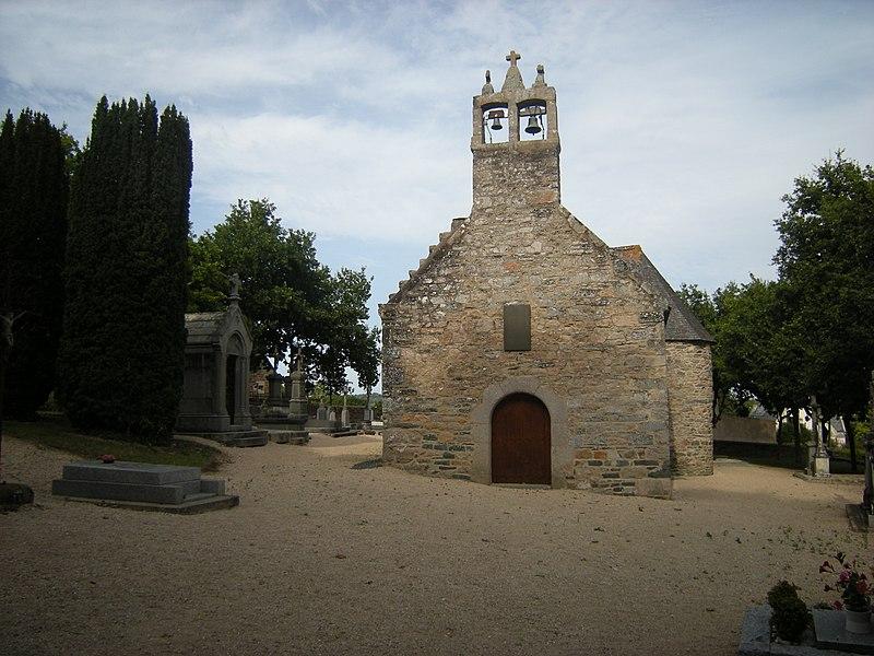 Photo du Monument Historique Chapelle de Lanvignec situé à Paimpol