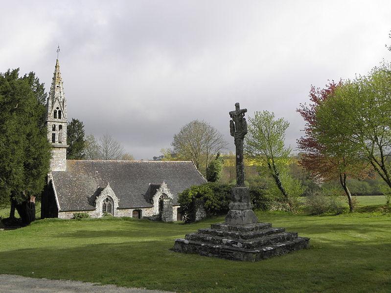 Photo du Monument Historique Chapelle de Lansalaün de Notre-Dame de Folgoat situé à Paule