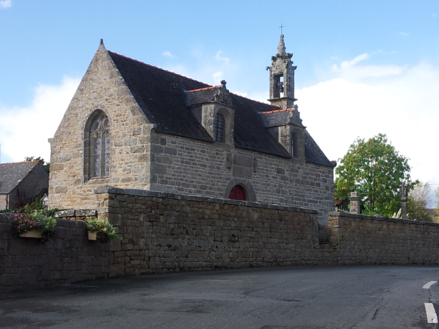 Photo du Monument Historique Chapelle Notre-Dame de Lorette situé à Pédernec
