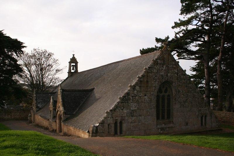 Photo du Monument Historique Chapelle de Port-Blanc situé à Penvénan