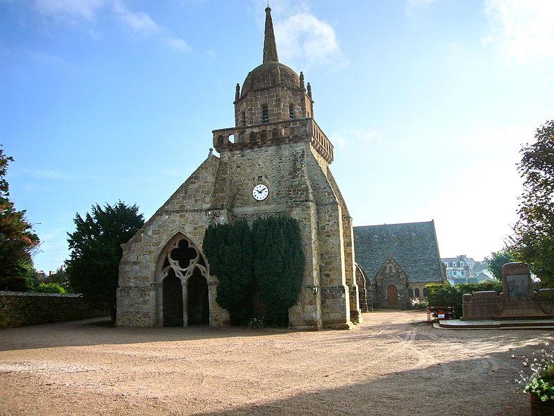 Photo du Monument Historique Eglise Saint-Jacques situé à Perros-Guirec