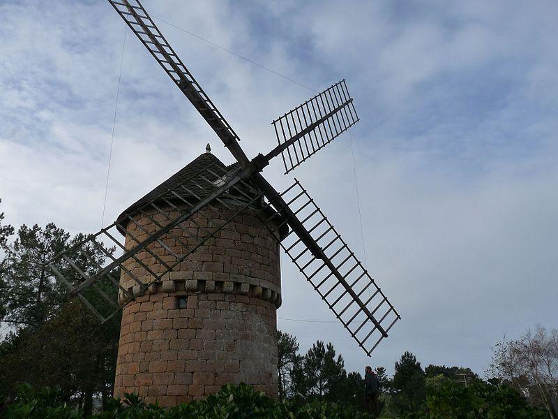 Photo du Monument Historique Moulin de la Lande du Crac situé à Perros-Guirec