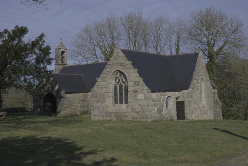 Photo du Monument Historique Chapelle du Loch situé à Peumerit-Quintin