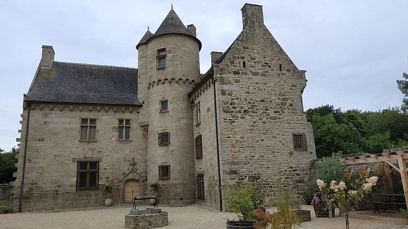 Photo du Monument Historique Manoir de la Ville-Daniel situé à Plaine-Haute