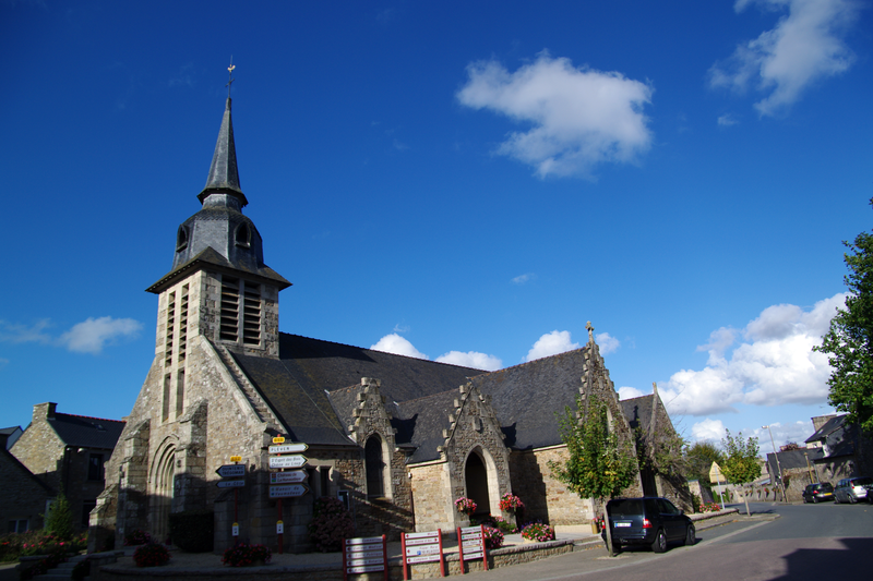 Photo du Monument Historique Eglise Saint-Malo situé à Plédéliac