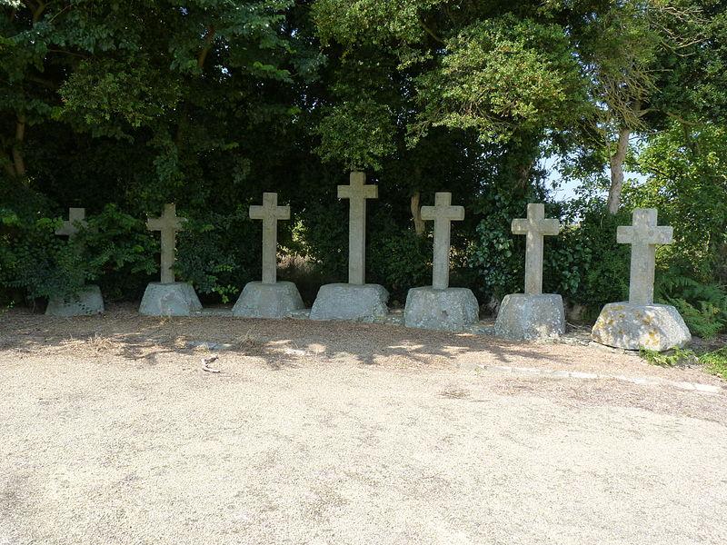 Photo du Monument Historique Sept croix situé à Plélan-le-Petit