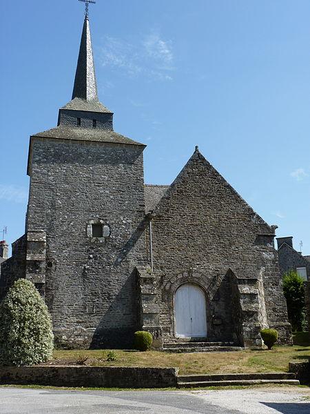 Photo du Monument Historique Chapelle Saint-Lubin et calvaire situé à Plémet