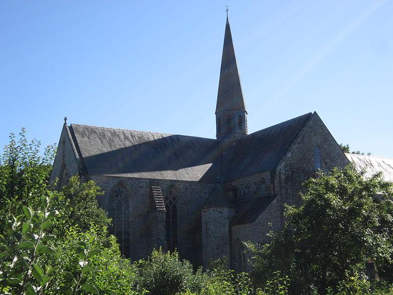 Photo du Monument Historique Abbaye de Boquen situé à Plénée-Jugon