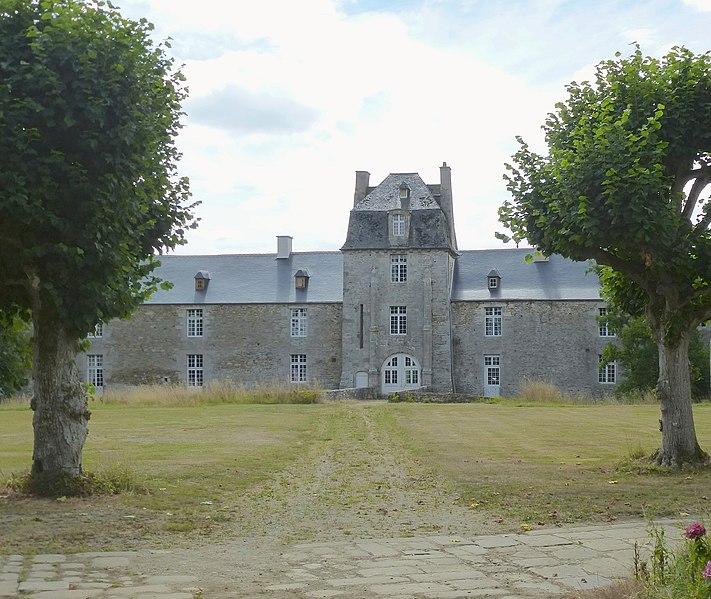 Photo du Monument Historique Château du Bois de la Motte situé à Pleslin-Trigavou