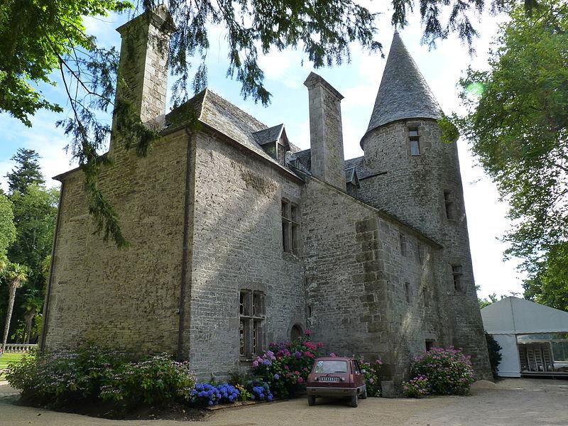 Photo du Monument Historique Château de Lesmaës situé à Plestin-les-Grèves