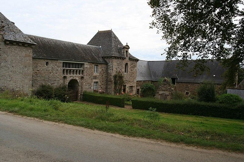 Photo du Monument Historique Manoir de Leslach situé à Plestin-les-Grèves