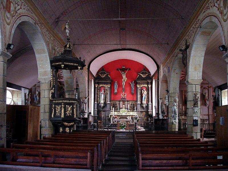 Photo du Monument Historique Eglise Saint-Pierre situé à Pleudaniel