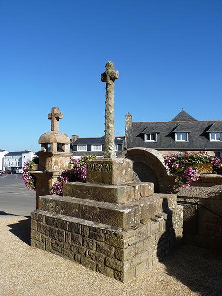 Photo du Monument Historique Croix écotée situé à Pleumeur-Bodou