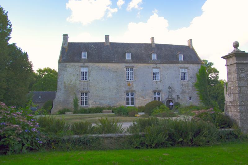 Photo du Monument Historique Manoir de Vaumadeuc situé à Pléven
