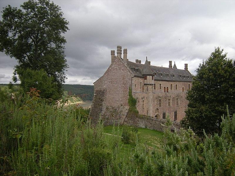 Photo du Monument Historique Château de la Roche-Jagu et ses dépendances situé à Ploëzal