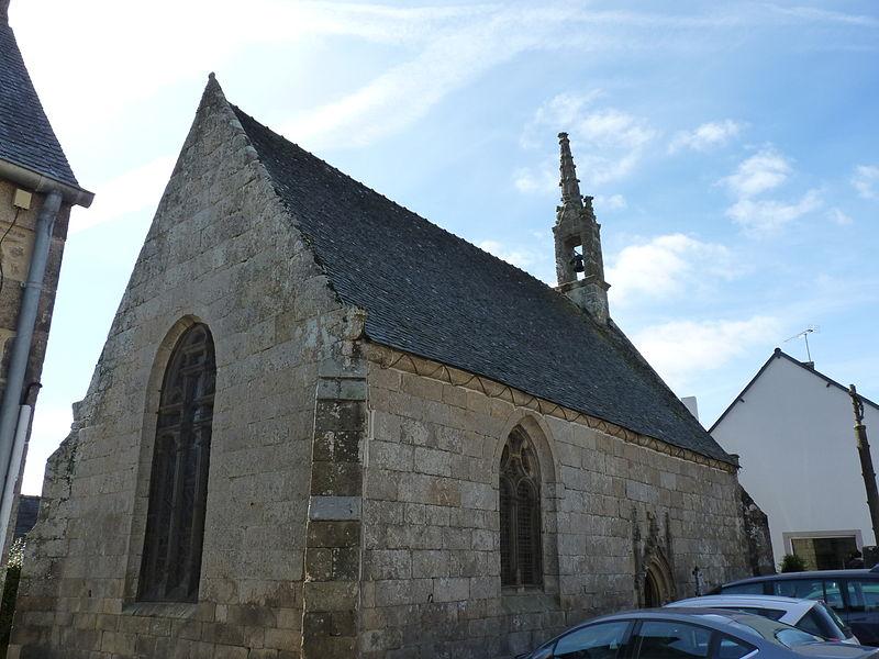 Photo du Monument Historique Chapelle Sainte-Barbe situé à Plouaret