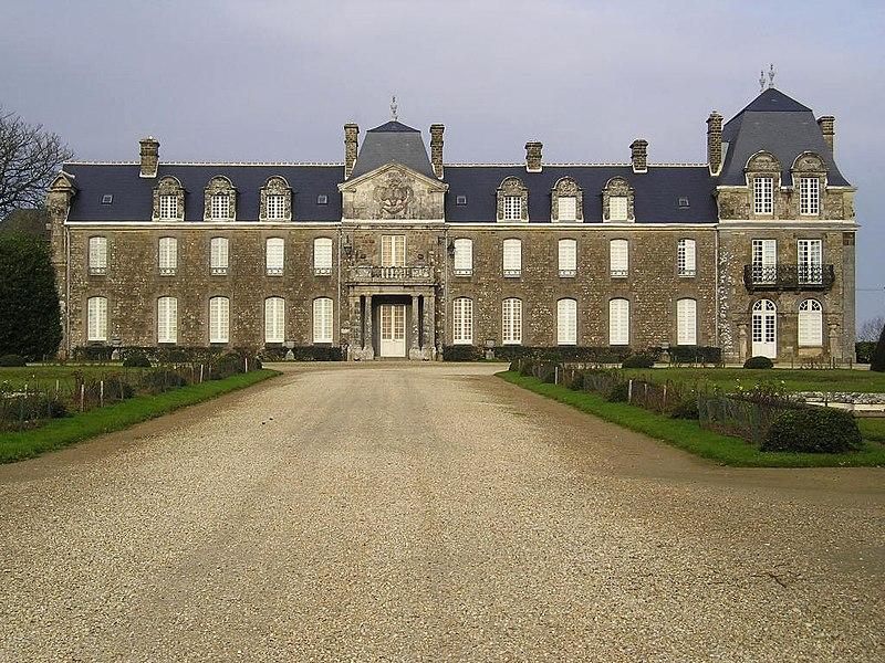 Photo du Monument Historique Château de Caradeuc (également sur communes de Longaulnay (35) et Saint-Pern (35)) situé à Plouasne