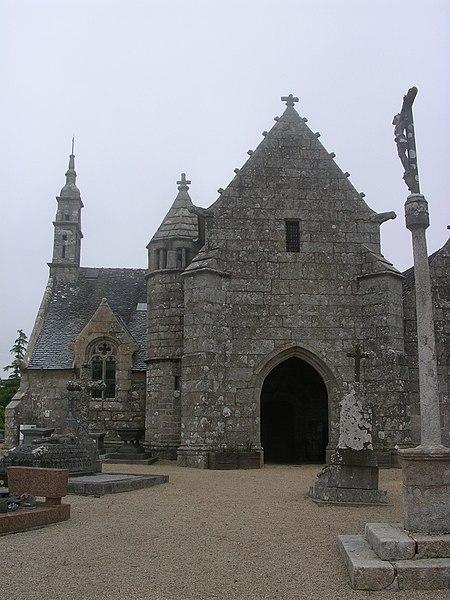 Photo du Monument Historique Eglise de Kéraudy situé à Ploumilliau