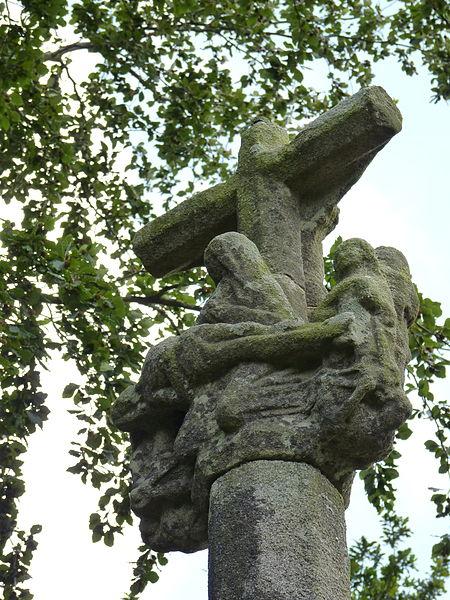 Photo du Monument Historique Croix de chemin situé à Plounévez-Moëdec