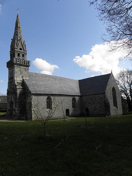 Photo du Monument Historique Chapelle Notre-Dame de Kerhir situé à Plounévez-Quintin