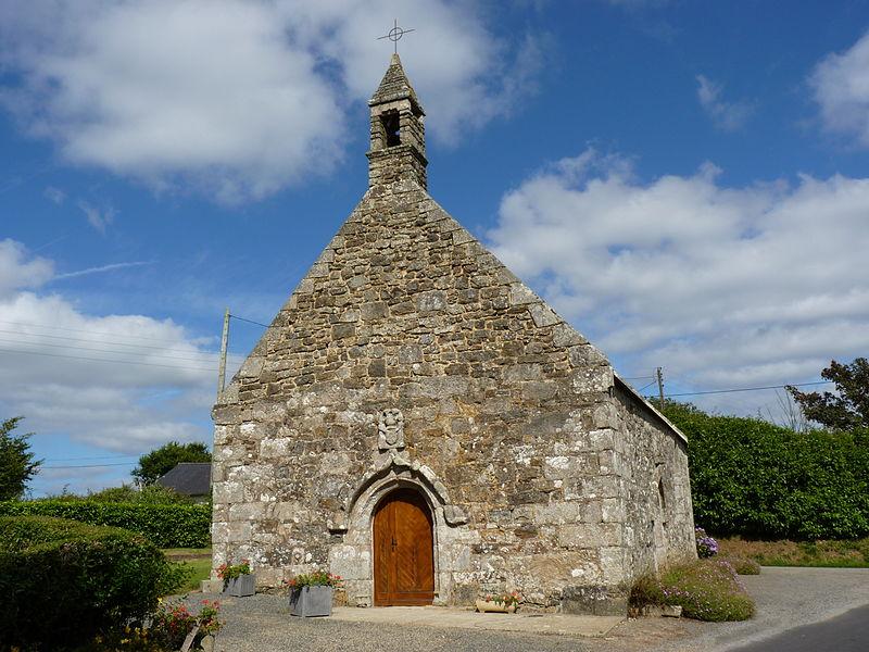 Photo du Monument Historique Chapelle Saint-Guénolé situé à Plourac'h