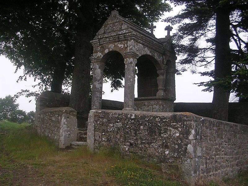 Photo du Monument Historique Oratoire de Saint-Sylvestre situé à Plouzélambre