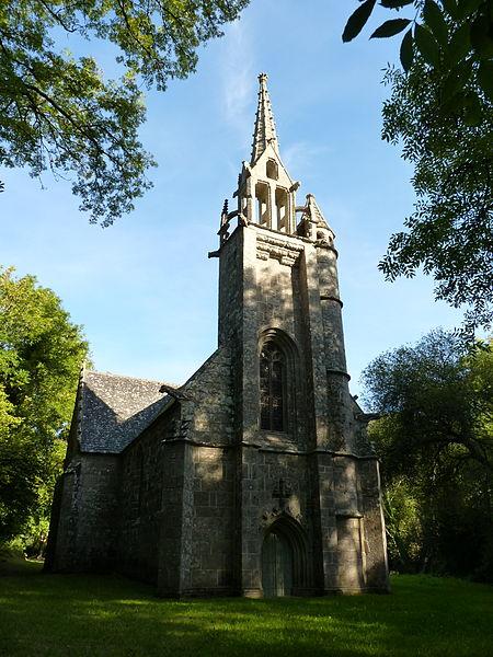 Photo du Monument Historique Chapelle Saint-Nicolas situé à Plufur