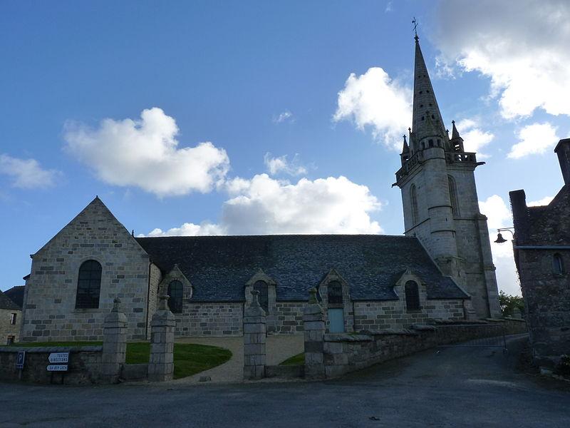 Photo du Monument Historique Eglise Saint-Florent situé à Plufur