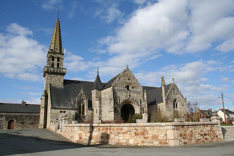 Photo du Monument Historique Eglise Notre-Dame des Grâces situé à Plusquellec