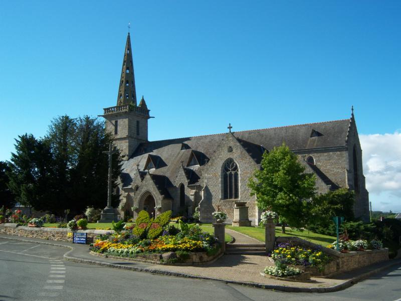 Photo du Monument Historique Eglise Notre-Dame situé à Pommerit-le-Vicomte
