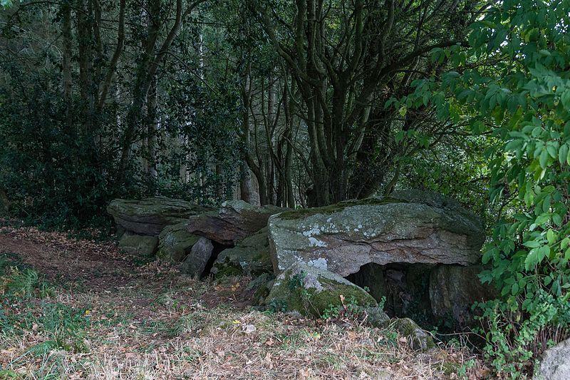 Photo du Monument Historique Dolmen du Champ-Grosset situé à Quessoy