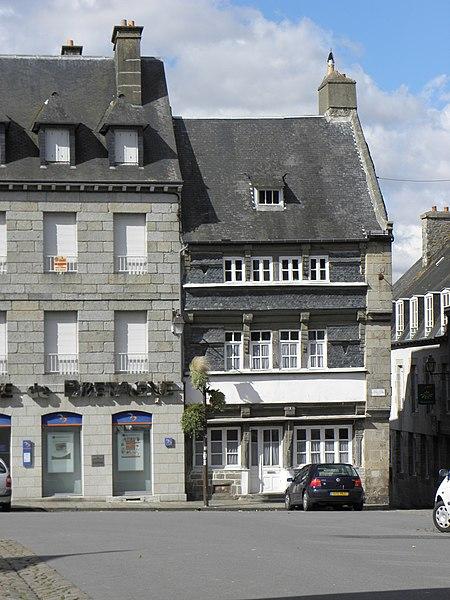 Photo du Monument Historique Maison situé à Quintin