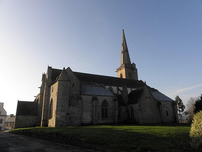 Photo du Monument Historique Eglise Sainte-Catherine situé à La Roche-Derrien