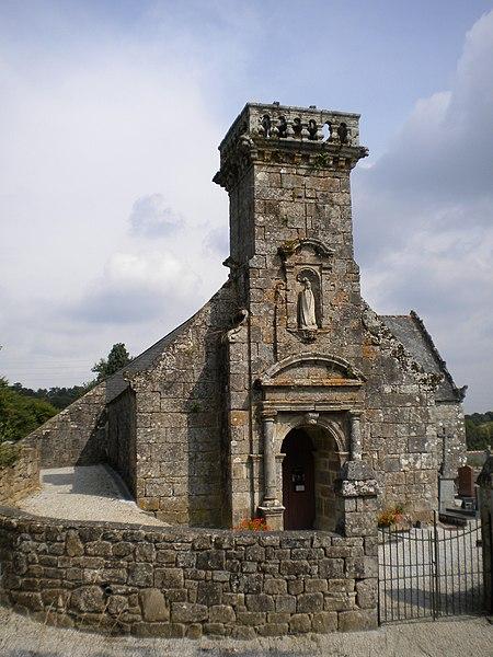 Photo du Monument Historique Chapelle de Locmaria situé à Rostrenen