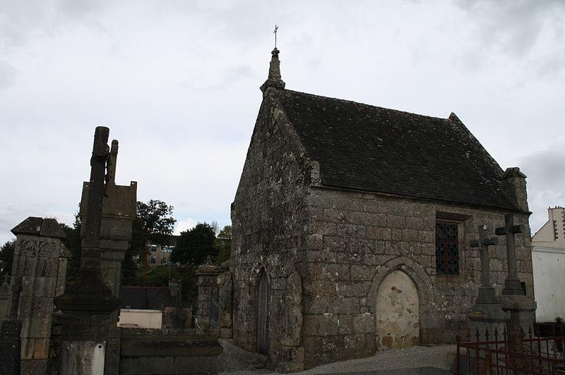 Photo du Monument Historique Chapelle Saint-Jacques situé à Rostrenen