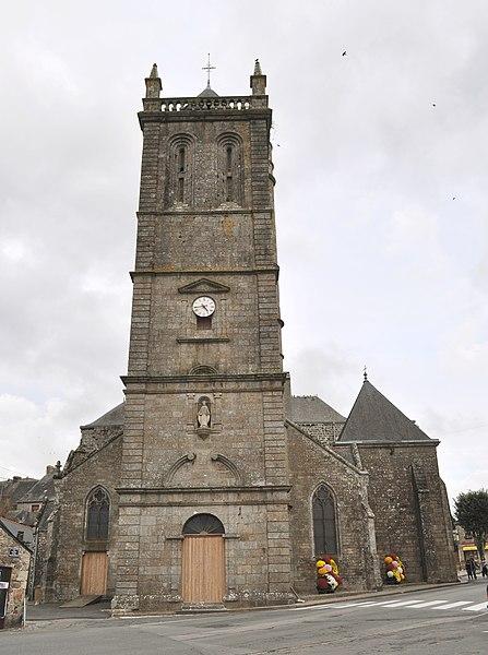 Photo du Monument Historique Eglise Notre-Dame du Roncier situé à Rostrenen