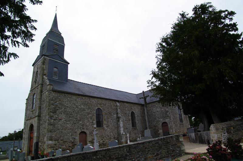 Photo du Monument Historique Eglise Saint-Pierre Saint-Paul situé à Ruca