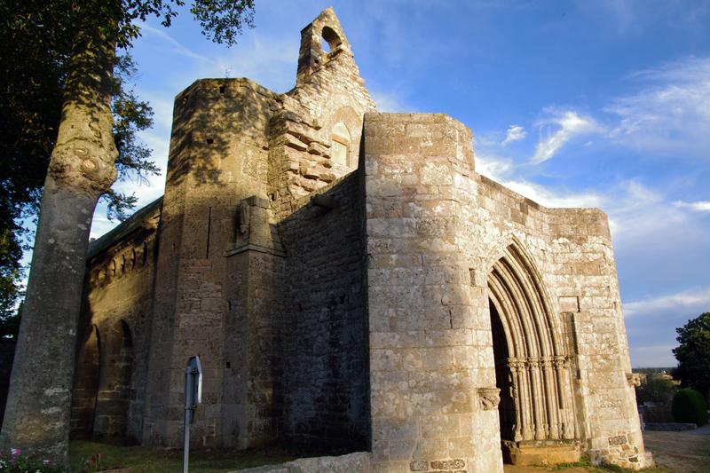 Photo du Monument Historique Chapelle Saint-Jacques-le-Majeur situé à Saint-Alban