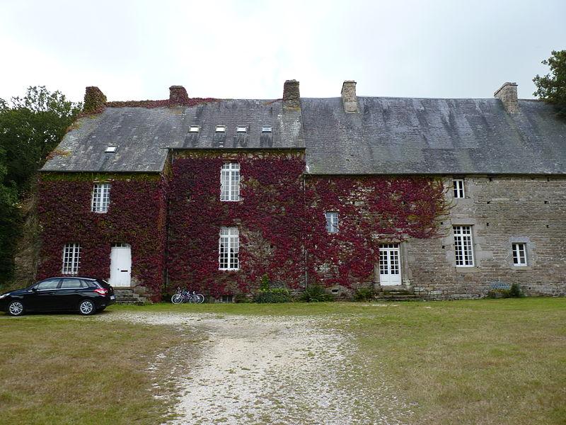 Photo du Monument Historique Manoir de la Grand'Isle situé à Saint-Bihy
