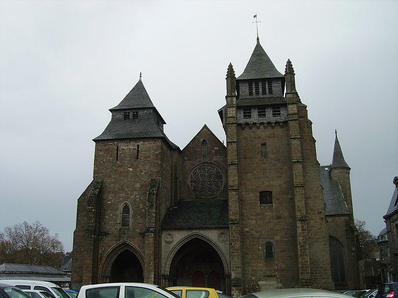 Photo du Monument Historique Cathédrale Saint-Etienne situé à Saint-Brieuc