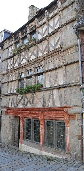 Photo du Monument Historique Hôtel des Ducs de Bretagne situé à Saint-Brieuc