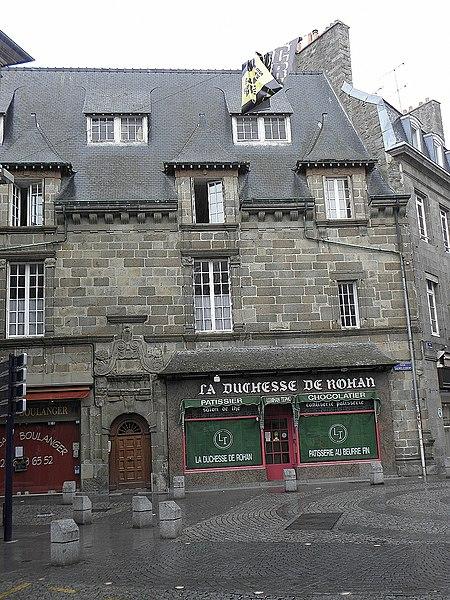 Photo du Monument Historique Hôtel de Rohan situé à Saint-Brieuc