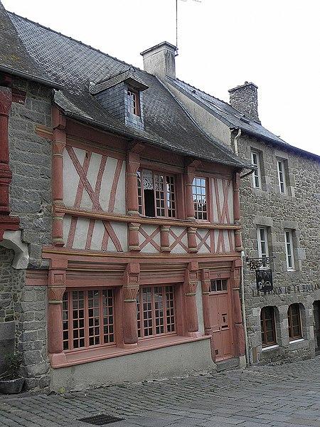 Photo du Monument Historique Maison situé à Saint-Brieuc