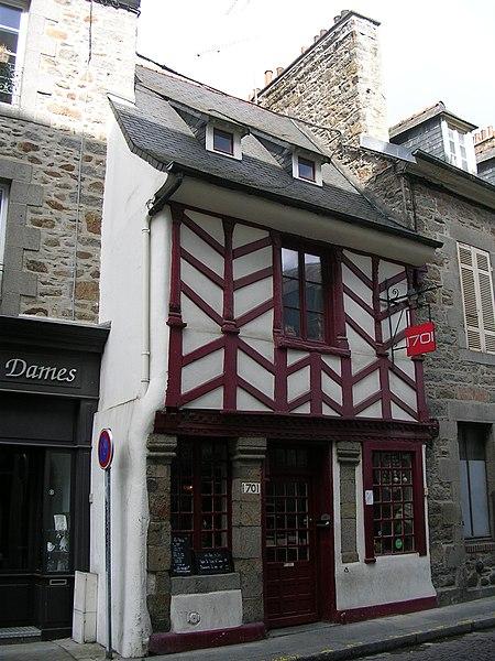 Photo du Monument Historique Immeuble situé à Saint-Brieuc