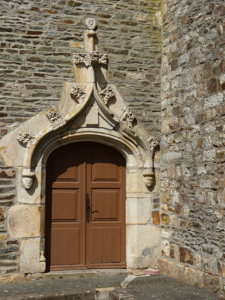 Photo du Monument Historique Eglise Saint-Etienne situé à Saint-Etienne-du-Gué-de-l'Isle