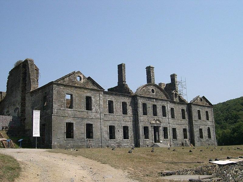 Photo du Monument Historique Abbaye de Bon Repos situé à Saint-Gelven