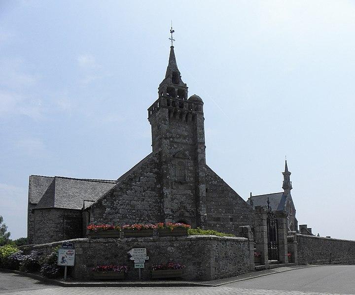 Photo du Monument Historique Eglise Saint-Gilles situé à Saint-Gilles-les-Bois