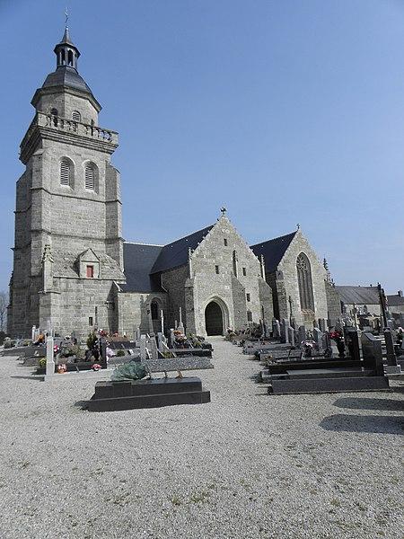 Photo du Monument Historique Eglise Saint-Gilles situé à Saint-Gilles-Pligeaux